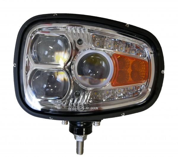 Phare avant Multifonction DROIT LED 12-36V 60W (feux de route - de croisement - de position - clignotant fontal et latéral)