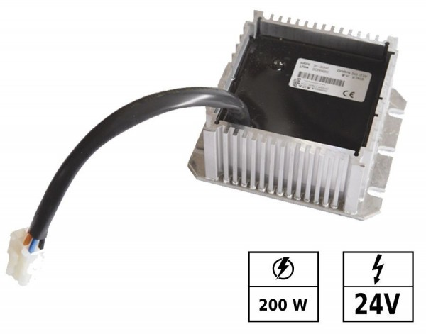Convertisseur de tension 30-130 VDC/24 VDC 8,3A 200W IP65 Connexion en parallèle possible