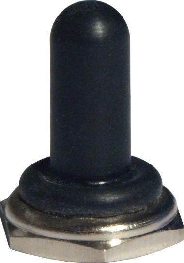 Capuchon noir long
