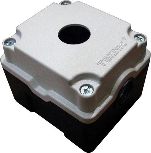Boîtier métallique aluminium moulé 1 trou 52 mm de profondeur