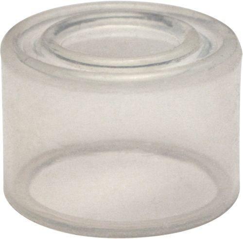 Capuchon transparent pour bouton poussoir dépassant