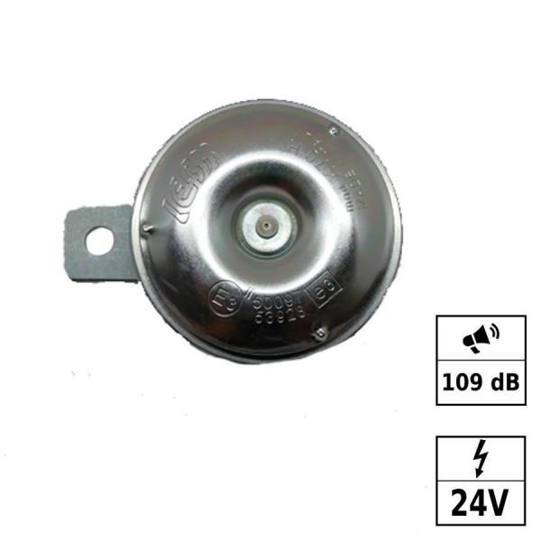 Avertisseur 109dB aigu - 24V - Ø70mm