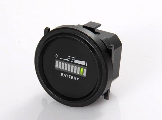 Indicateur de batterie, IP65, affichage à barres LED, fixation à vis, 20mA, 12-72VDC