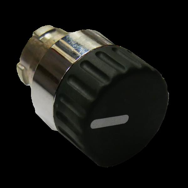 Sélecteur de position 3 positions bouton rond noir adapté au module IP68