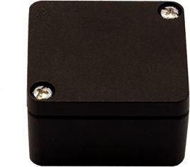 Efabox - Boîtier en aluminium injecté sous pression IP68 45x50x30 noir