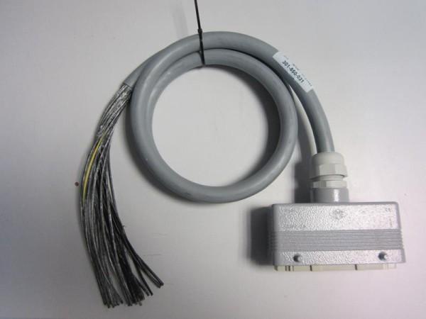 Cable multiconducteur avec connecteur ILME (=HARTING) 24p + T