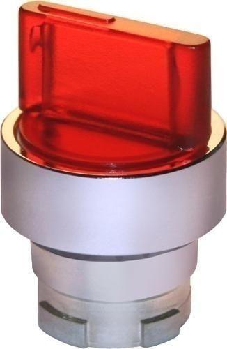 Sélecteur de position lumineux métal rouge G(D)