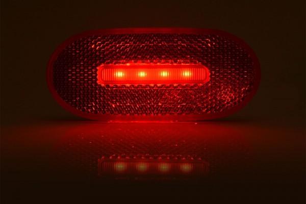 Feu de position arrière LED avec catadioptre