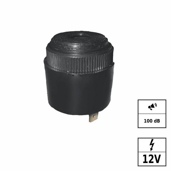 Piezo buzzer carillon [+ - ] 100B 12VDC