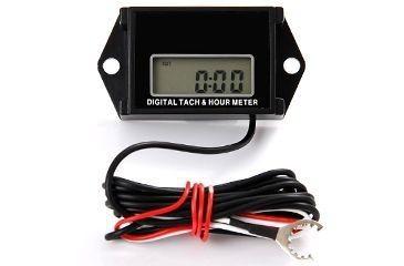 Tachymètre et horamètre Waterproof RPM pour moteur essence sur batterie