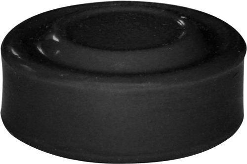 Capuchon noir pour bouton poussoir