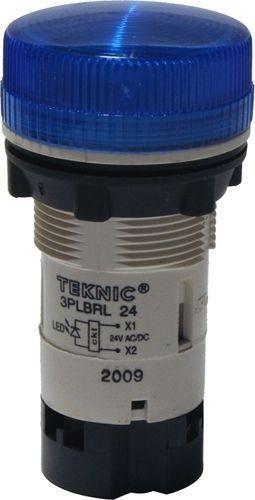Voyant bleu LED 12-24V Ø22mm MB Plastique