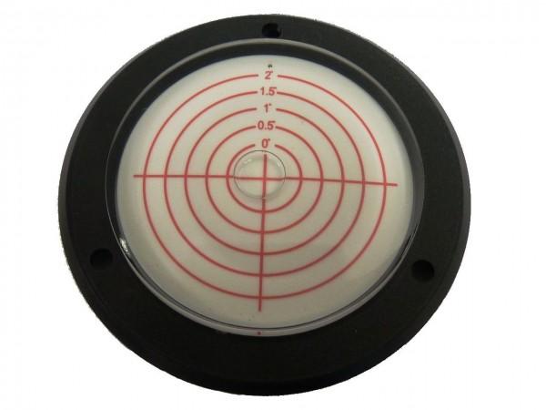 Niveau à bulle circulaire 0°- 0,5° - 1° - 1,5° - 2° Ø100mm