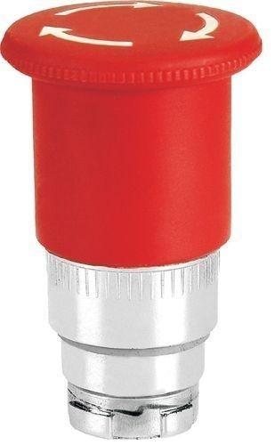Arrêt d´urgence Métal 40mm 1/4 tour brusque rouge