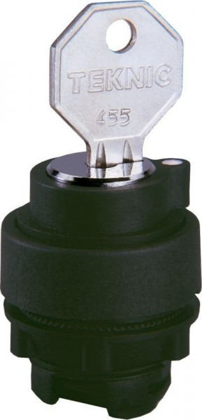 Sélecteur à clé Plastique (G)M*(D) 455