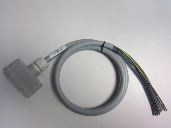 Câble multiconducteur avec prise Harting 16 pôles 1500mm (+/- 50mm)