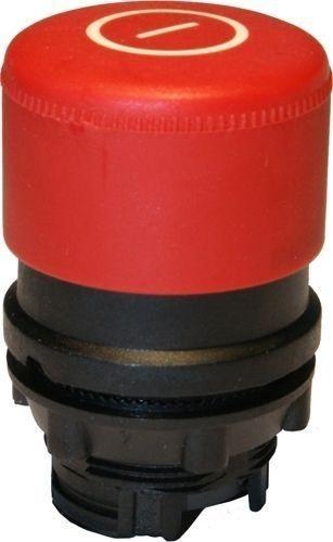 Arrêt d´urgence Plastique 30mm momentané rouge