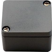 Efabox - Boîtier en aluminium injecté sous pression IP68 45x50x30 RAL7001 gris