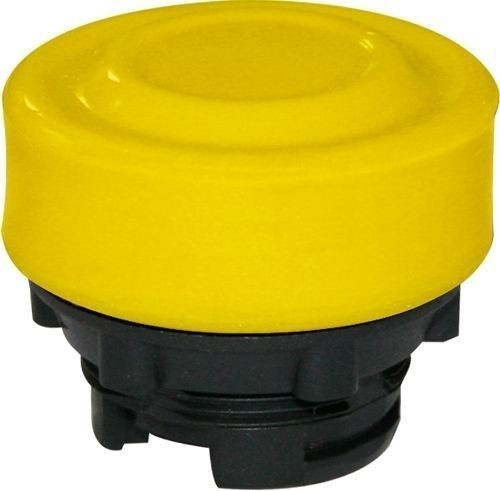 Bouton poussoir Plastique protégé ambre