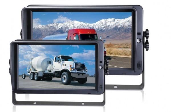 Écran 10.1'''' tactile HD 1080P, 4 entrées caméras, fonction QUAD