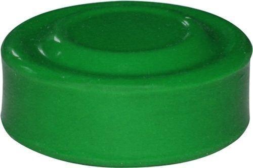 Capuchon vert pour bouton poussoir