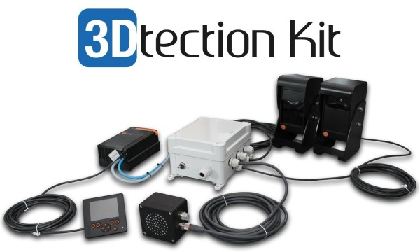 "3Dtection kit - Kit Anti-collision avec écran 2,8"" + 4A"