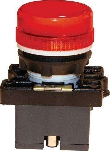 Voyant plastique à douille & ampoule 12V rouge