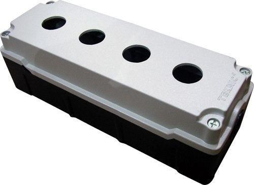 Boîtier métallique aluminium moulé 4 trous 70 mm de profondeur