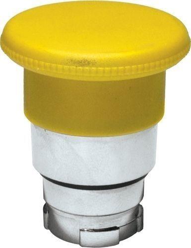 Arrêt d´urgence Métal 40mm momentané jaune
