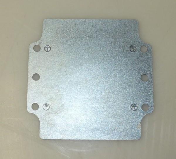 Plaque de montage pour efabox 120x122x81 ou 91 mm