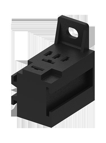 Support universel à cosses pour micro relais
