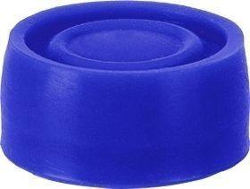Capuchon bleu pour bouton poussoir protégé
