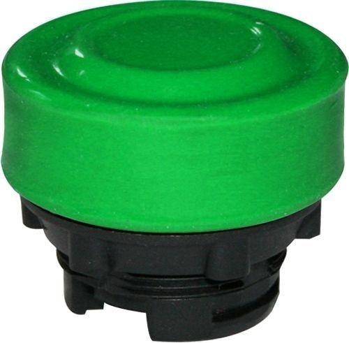 Bouton poussoir Plastique protégé vert