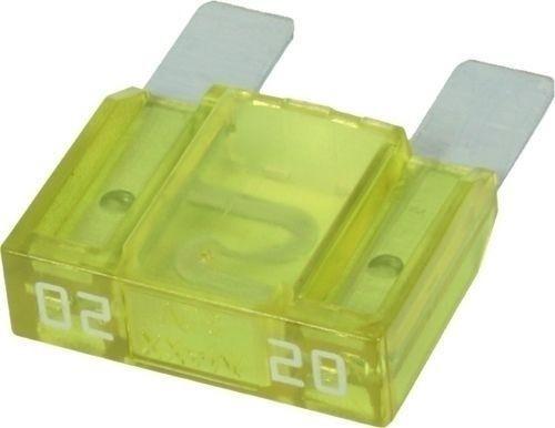 Fusible enfichable MAXI 20A jaune
