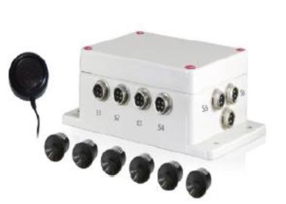 Système de detection ultrasons - 6 capteurs