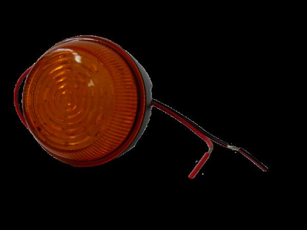 Feu à éclats LED orange 2 points ECE R10 IP67