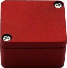 Efabox- Boîtier en aluminium injecté sous pression IP68 45x50x30 rouge