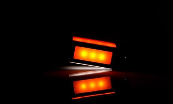 Feu multifonction de position avant-arrière et latéral LED