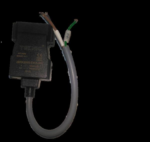 Contact de commutation avec bride de montage métallique + version 2NO IP68; Câble 20cm