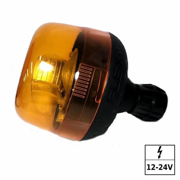 Gyrophare 12V sur hampe flexible et ampoule fournie 12V