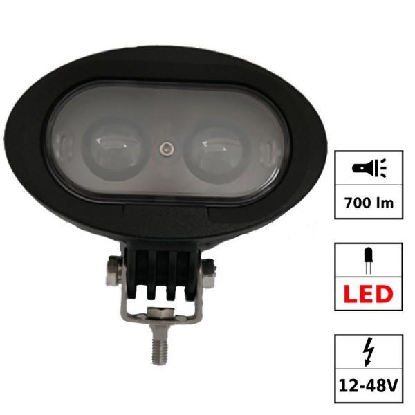 Blue light 12-48V DC 2 LED