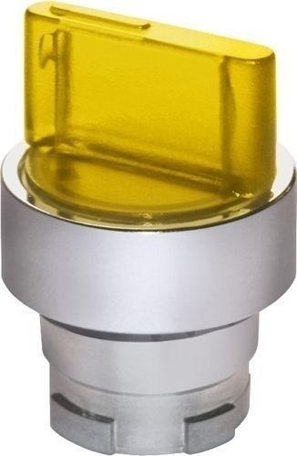 Sélecteur de position lumineux métal jaune G(D)