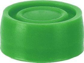 Capuchon vert pour bouton poussoir protégé