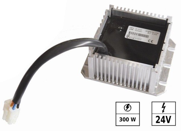 Convertisseur de tension 30-130 VDC/24 VDC 12,5A 300W IP65 Connexion en parallèle possible