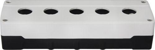 Boîtier 5 trous PC Blanc/Noir