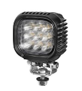 Phare de travail 4 pouces 63W LED cree 2700 m 12-30V carré fixation visse Flood beam