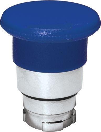 Arrêt d´urgence Métal 40mm momentané bleu