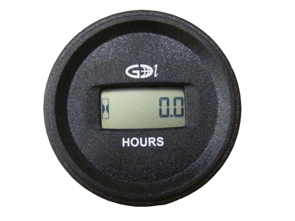 Horamètre digital rond 5-80V AC/DC