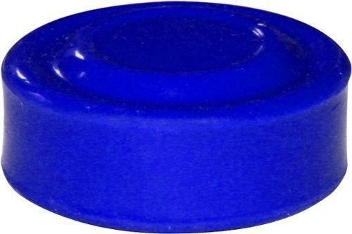 Capuchon bleu pour bouton poussoir
