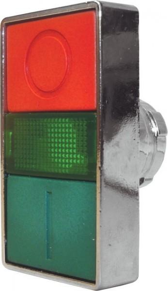 Double bouton poussoir